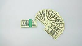 Пачка 100 баксов мини «конфетти» ( прикольные доллары ) 1078705717