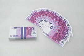 Пачка 500 евро мини «конфетти» ( прикольные деньги ) 1078705718