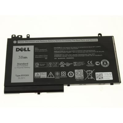 Аккумулятор для ноутбука Dell Dell Latitude E5250 RYXXH 38Wh 3cell 11.1V Li-ion (A47144)