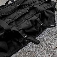 "Баул-рюкзак армейский 80л. ""Кочевник"" BLACK, фото 5"