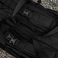 "Баул-рюкзак армейский 80л. ""Кочевник"" BLACK, фото 8"