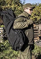 "Баул-рюкзак армейский 80л. ""Кочевник"" BLACK, фото 9"