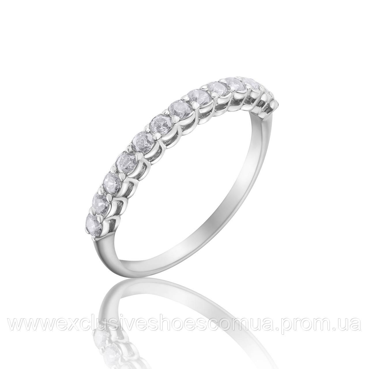 Серебряное помолвочное кольцо