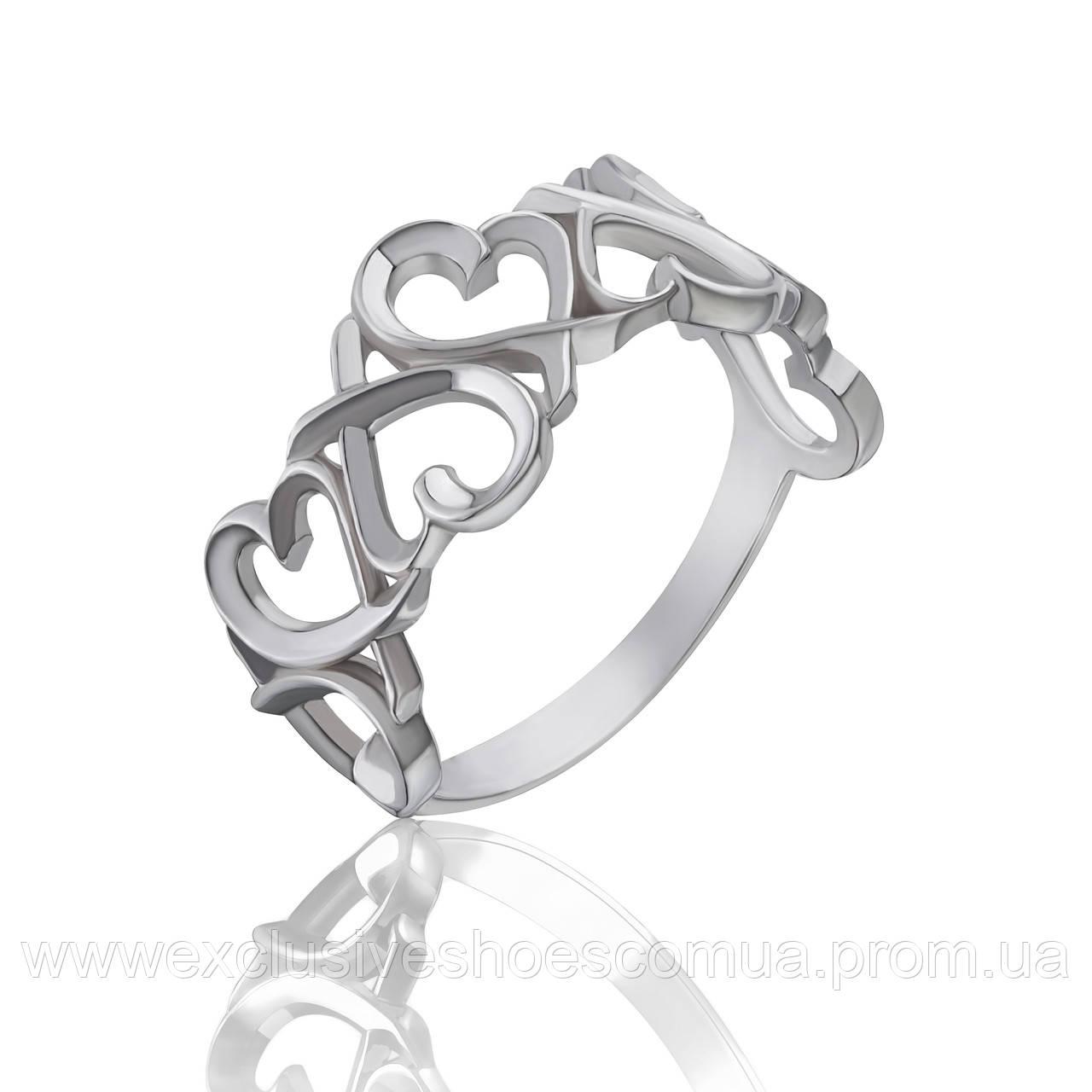 """Серебряное кольцо """"Love"""""""