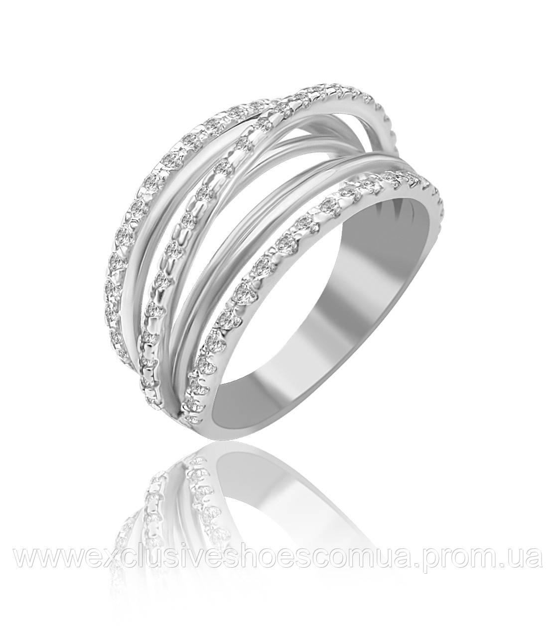 """Серебряное кольцо """"Счастье"""" арт- 910094"""