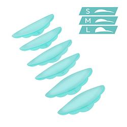 Innovator Cosmetics. Валики силіконові для ламінування вій, Ultra Soft. 3 пари (S/ M/ L)