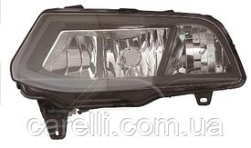 Фара противотуманная левая Н8 без дневного света для VW Polo 2015-18 Hatchback