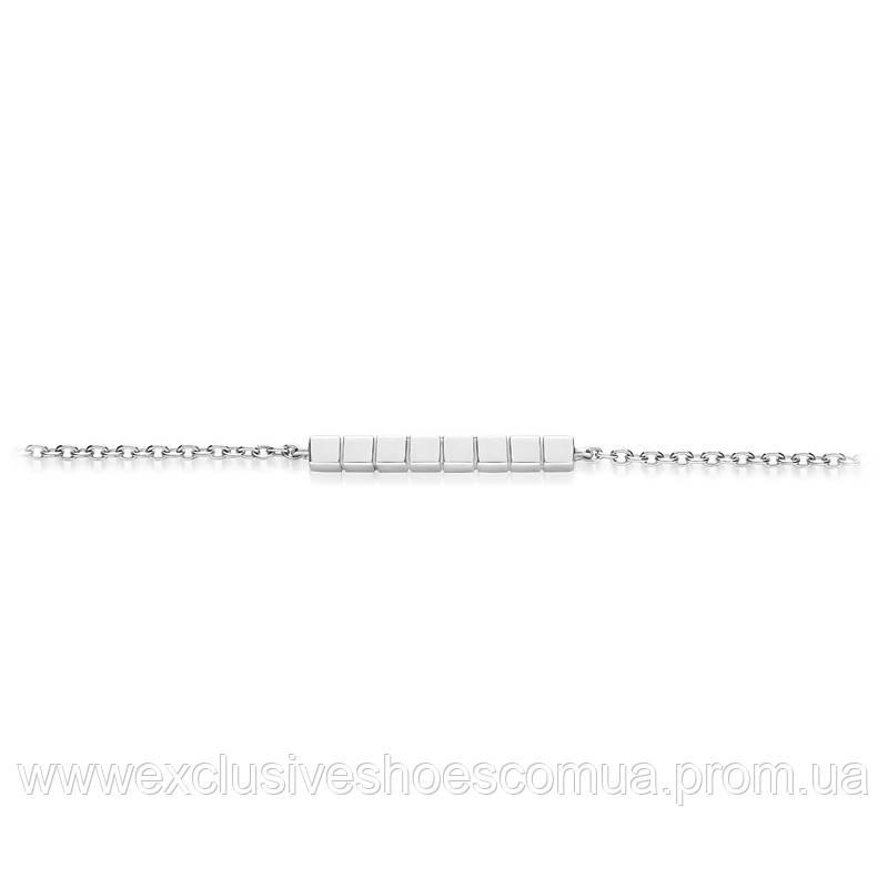Браслет из серебра AVANGARD , размер регулируемый 17-19, арт-940029