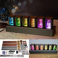 РДБ псевдо-світіння трубка годинник набір DIY світлодіодні світильники креативні прикраси один подарунок
