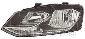 Фара левая электро Н7+Н7 для VW Polo 2015-18 Hatchback