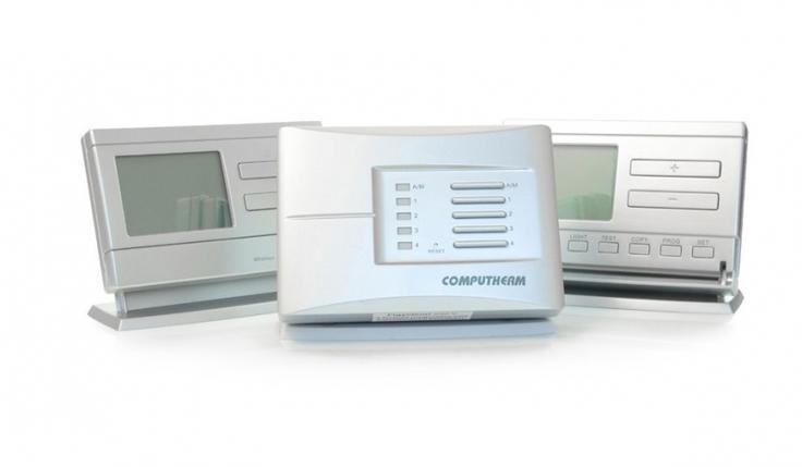 Беспроводной недельный терморегулятор Computherm Q8 RF, фото 2