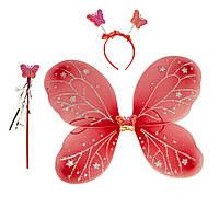Набір Метелики 45х35см (червоний)