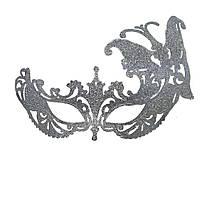 Венецианская маска Баттерфлай (серебро) 818320073