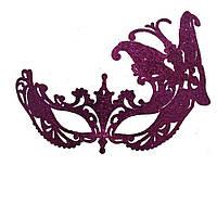 Венецианская маска Баттерфлай (малиновая) 627184116