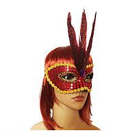 Венецианская маска Фантазия (красная) 979814683