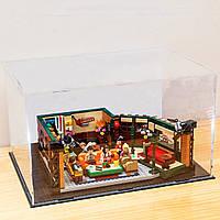 Коробка чохол DIY акриловий дисплей для LEGO 21319 Центральна кав'ярня друзі цеглу іграшки