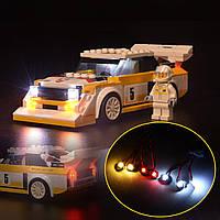 DIY світло комплект освітлення тільки для LEGO 76897 для Audi 1985 Спорт Кваттро С1 чемпіони швидкості