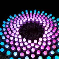 DIY електронний Аврора набір RGB LED миготливий комплект