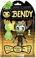 Фигурка Бенди и Чернильная машина Темное Возрождение Бенди светящийся Bendy and the ink machine, фото 1