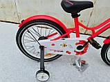 Велосипед детский для девочек ardis st 16 beehive розовый, фото 6