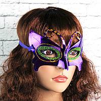 Венецианская маска Бабочка (фиолетовая) 515184433