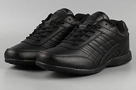 Кросівки чоловічі чорні Bona 788C Бона Розміри 42 43 45 46