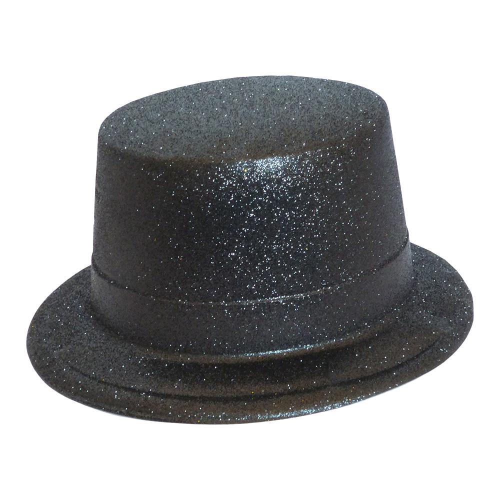 Капелюх Циліндр блискуча (чорний)