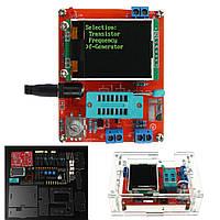 Зроби сам/зібрав GM328 транзистор тестер діода ємність генератора LCR з чохол комплект