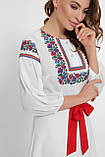 GLEM Орнамент платье Сапфира д/р, фото 5