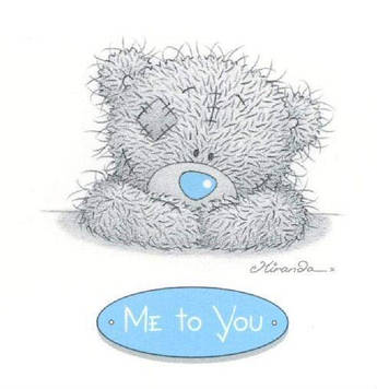 """Me To You"" - Наклейка Сок 6,5*8,5 см."