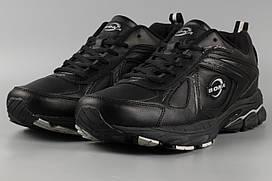 Кросівки чоловічі чорні Bona 680С Бона Розміри 44