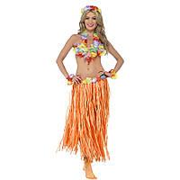 Карнавальний костюм, Гавайська (помаранчевий), фото 1