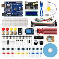 Geekcreit стартовий комплект для Arduino Уно R3 схема ATmega328P з 15 уроки підручник сумісний з Arduino Mixly