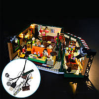 DIY світло комплект освітлення тільки для LEGO 21319 друзі, Центральний парк, кафе цеглу іграшки