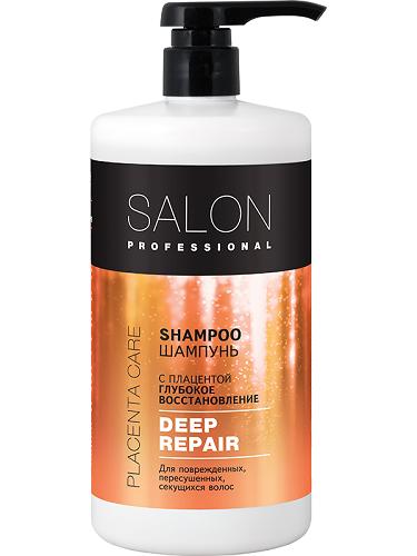 Шампунь. Глибоке відновлення 1000 мл, Salon Professional.