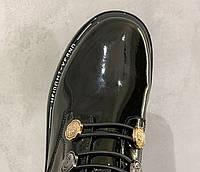 Женские лаковые ботинки. Модель 70345, фото 10