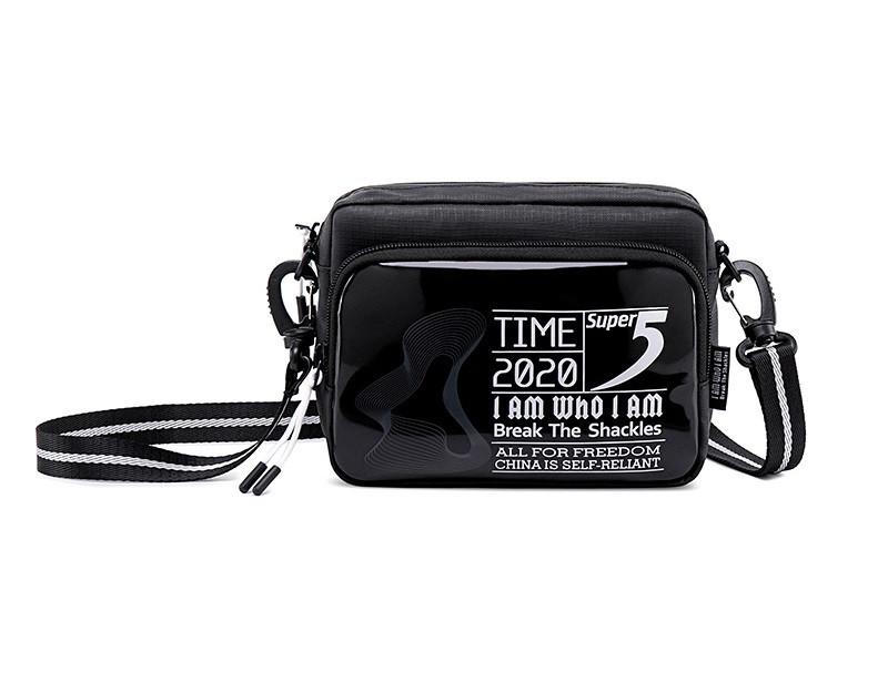Небольшая сумочка через плечо Super5 K00111, с тремя отделениями, из водоотталкивающей ткани, 1л