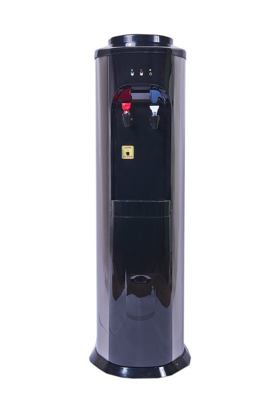 Кулер для воды напольный компрессорный AquaWorld HC-98L Black  УЦЕНКА