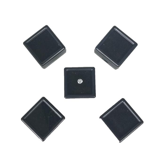 Коробка для камней черная