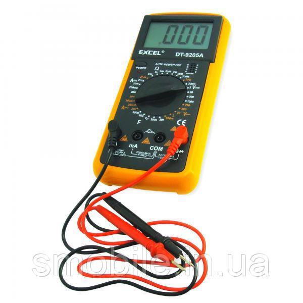 Мультиметр EXCEL DT-9205A