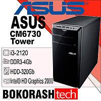 Системний блок Asus CM6730 / Tower-1155 / Intel core I3-2gen / DDR3-4GB / HDD-250GB (к.00100601), фото 1