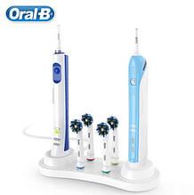 Оригінальна підставка для Oral-B Braun для 4-х насадок і 2-х зубних щіток 2+4 Браун Орал бі