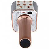 Беспроводной караоке микрофон WSTER WS-1688 Bluetooth USB AUX FM, фото 5