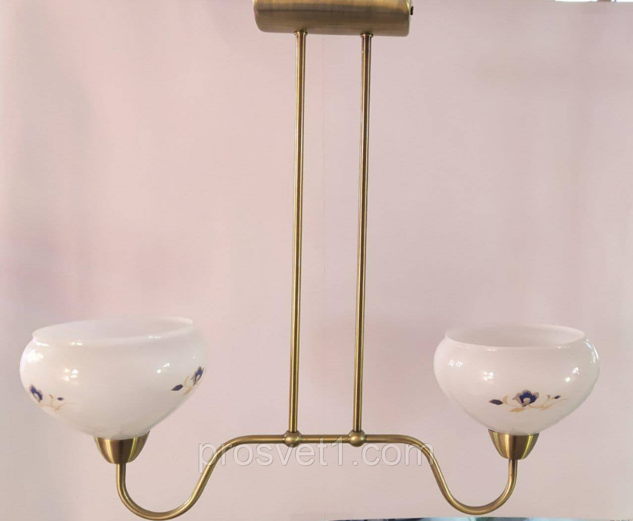 Люстра EG15000-2 антична бронза Melody