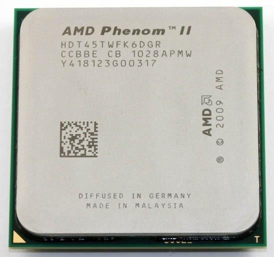 Процессор AMD Phenom II X6 (six core) 1045T 2.7-3.2GHz 95W, + термопаста GD900