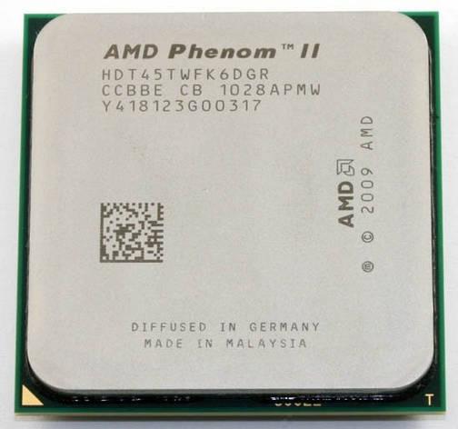 Процессор AMD Phenom II X6 (six core) 1045T 2.7-3.2GHz 95W, + термопаста GD900, фото 2