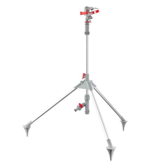 Дождеватель пульсирующий с полной/частичной зоной полива на треноге INTERTOOL GE-0068