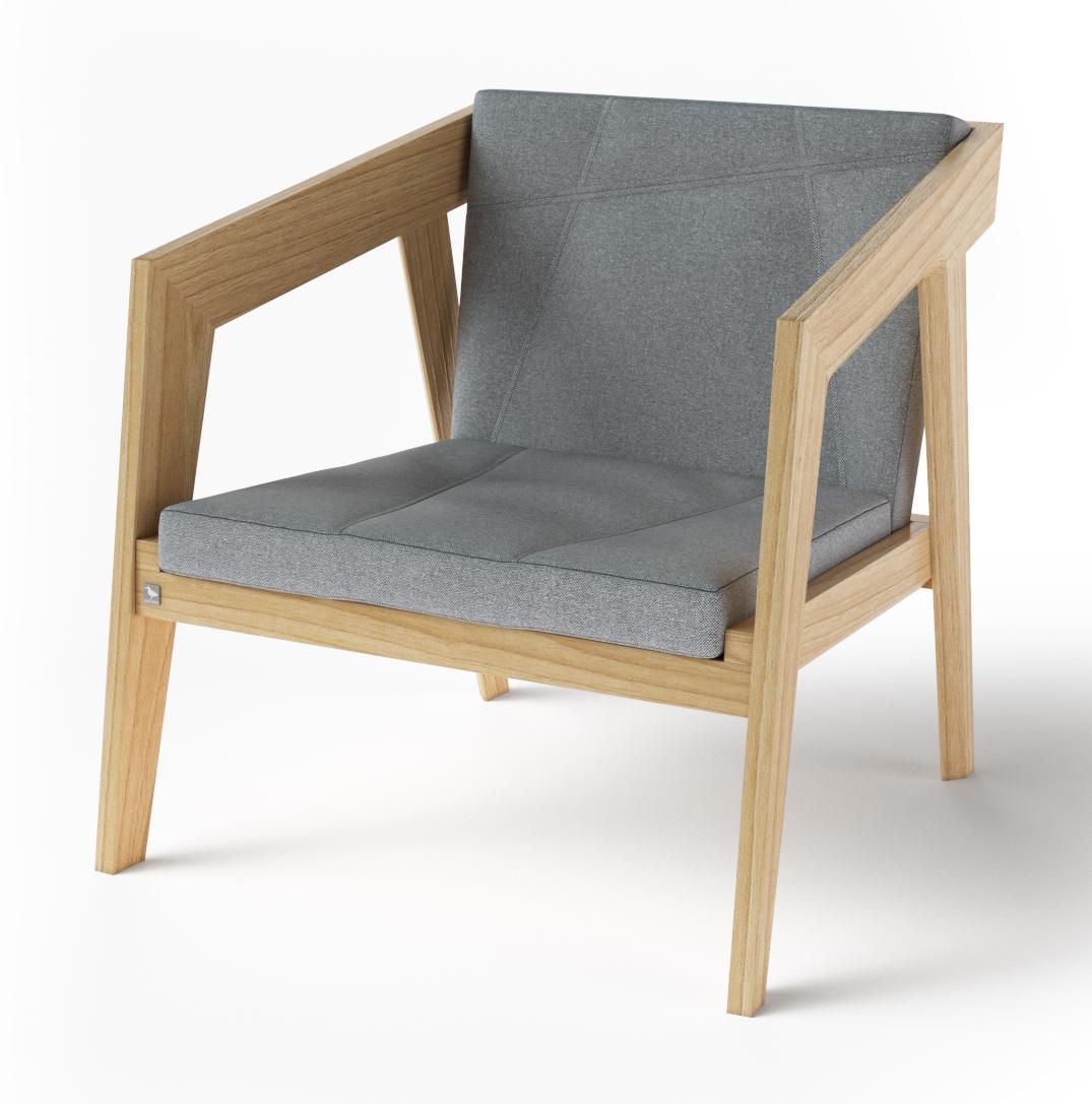 Кресло Air 2 Armchair 2 soft natural TM Kint