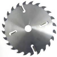 Пилы дисковые по дереву с твердосплавными пластинами и подрезными ножами для многопильных станков