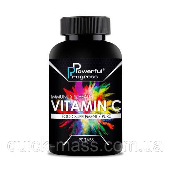 Витамин С 500мг Powerful Progress Vitamin C 500 мг 90 таб